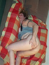 Granny loves her pussy and a fresh throbbing cock