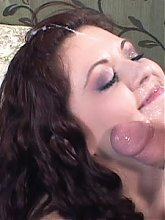 Sexually unsatisfied Scarlet resorts to fucking a guy she just met while her hubby watches